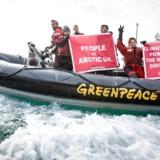 Greenpeace taber sag ved byretten i Oslo. Arkivfoto.