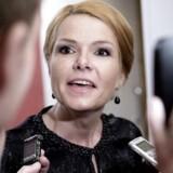 Arkivfoto. Inger Støjberg har tidligere været i vælten på grund af sine opdateringer på de sociale medier.
