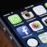 Den amerikanske efterretningstjeneste CIA rådede over en lang række hackerværktøjer til at trænge ind på Apple-udstyr. Arkivfoto: Andrew Gombert, EPA/Scanpix