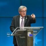 EU-Kommissionens formand, Jean-Claude Juncker.