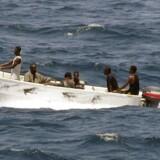Arkivfoto fra 2008: Pirater ud for Somaliens kyst.