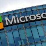 Sammen med omkring halvdelen af de 5.600 dommerkendelser om udlevering af data, som Microsoft har modtaget over en periode på 18 måneder, fulgte kravet om, at de personer, hvis data myndighederne skal bruge, ikke må få det at vide. Arkivfoto: Jacky Naegelen, Reuters/Scanpix