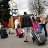 Arkivfoto: Antallet af asylansøgninger er faldet kraftigt i Danmark. Fra 20.825 i 2015 til 6055 i 2016, viser nye tal.