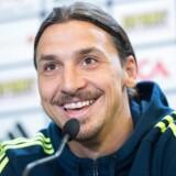 Arkivfoto. José Mourinho oplyser, at Zlatan Ibrahimovic er i spil til Manchester Uniteds kamp lørdag mod Newcastle.