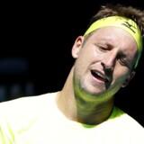 Tennys Sandgren vil blive husket for andet end sit særprægede fornavn og overraskende gennembrud i international toptennis, efter at han onsdag blev slået ud i kvartfinalen ved Australian Open. Reuters/Edgar Su