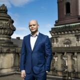 Venstre-politikeren Jakob Engel-Schmidt blev i sommeren 2017 anholdt med kokain i blodet. Han kalder det »mit livs fejltagelse«. Arkivfoto fra toppen af Christiansborg.