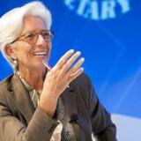Der stadig op til flere trusler, der kan afspore den globale vækst, advarer chefen for Den Internationale Valutafond (IMF), Christine Lagarde.