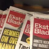 Ekstra Bladets lørdagsudgave er der blevet nedlagt fogedforbud ved midt i nat. Free
