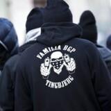 Københavns Politis operative specialafdeling aktionerede onsdag mod rocker/bande-grupperinger på Nørrebro.