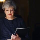 ARKIVFOTO: Den britiske premierminister Theresa May