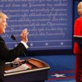 Mandag aftens tv-duel mellem de to amerikanske præsidentkandidater.