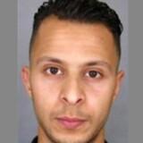 Salah Abdeslam blev anholdt den 18. marts 2016 i Belgiens hovedstad Bruxelles og er anklaget for sin medvirken i terrorangrebene i Paris den 13. november 2015. Han er siden blevet udleveret til retsforfølgelse i Frankrig. / AFP PHOTO / POLICE NATIONALE