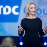 »Den digitale TV-oplevelse kan ske gennem en boks eller gennem apps, og om tre-fem år vil det primært være på apps,« siger administrerende direktør i TDC Pernille Erenbjerg.