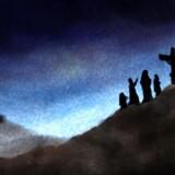 Illustration af Jesu korsfæstelse: Scanpix