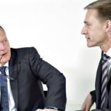 Statsminister Lars Løkke Rasmussen og Kristian Thulesen Dahl, leder af Dansk Folkeparti.