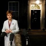 Arkivfoto: Nicola Sturgeon, som leder Skotlands selvstyre, siger, at premierminister Theresa Mays mislykkede forsøg på at sikre en aftale mandag i den første fase af brexitforhandlingerne kan være signalet til at få modstandere af den nuværende udvikling på banen.