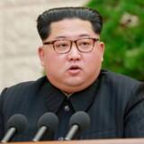 Kim Jong-un møder for første gang i 65 år en nordkoreansk leder uden for Nordkorea. (Foto: /Ritzau Scanpix)