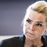 »Til syvende og sidst er det Danmark, der beslutter sig for, om vi skal bevare grænsekontrollen,« sagde Støjberg i forbindelse med mødet i Bruxelles.