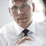 Udviklingen i indtægterne i Nordeas halvårsregnskab var ikke prangende, men Nordea har fået styr på omkostningerne, og det er med til at sikre et markant løft af overskuddet ifølge Nordeas danske topchef, Frank Vang-Jensen.