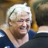 Debat i Folketinget d. 5. december 2016. Ældreminister Thyra Frank. (Foto: Ólafur Steinar Gestsson/Scanpix 2016)