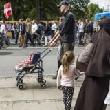 ARKIVFOTO: Venstre har netop besluttet at støtte et forbud mod burka og niqab. Socialdemokratiet har valgt samme position, og der tegner sig altså et bredt flertal for at forbyde de muslimske dragter i det offentlige rum.