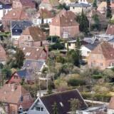 Huspriserne i københavnsområdet er ikke kravlet helt så meget op igen efter finanskrisen som ejerlejligheder.