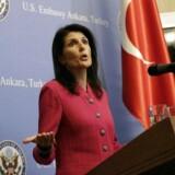 FN-ambassadør, Nikki Haley.