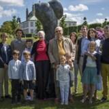 """BMINTERN - GULDBRYLLUP I forbindelse med afsløringen af skulpturen """"Miss Fredensborg"""" lørdag den 5. juni 2017"""