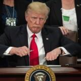 Donald Trump er ved at underskrive en bekendtgørelse, der skal starte byggeriet af den omdiskuterede mur mod Mexico.