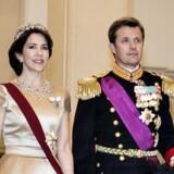 Kronprins Frederik og kronprinsesse Mary har begge læst på universitetet, før de mødte hinanden. Scanpix/Henning Bagger