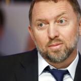 Oleg Deripaskas selskaber straffes, efter at USA har indført sanktioner mod oligarker tæt på præsident Putin. REUTERS/Ruben Sprich/File Photo