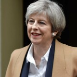 Arkivfoto. Premierminister Theresa May.