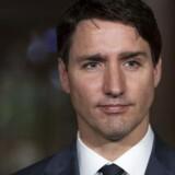 Den canadiske premierminister Justin Trudeau, 46, har selv røget hash og har et afslappet forhold til det euforiserende stof. Op til valget i 2015 i Canada udstedte han et valgløfte om, at han ville have rekreativ cannabis legaliseret. Det første store revolutionerende skridt kom natten til fredag dansk tid, da senatet i Canada blåstemplede en lov. Foto: Ian Langsdon/EPA