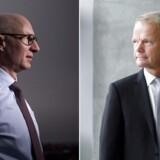 Ugens to hovedpersoner er naturligvis Lars Fruergaard Jørgensen fra Novo Nordisk og Kåre Schultz fra Lundbeck.