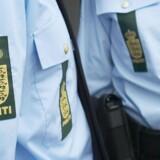 Det var klokken 12 på gaden i Søborg, at den mistænkte i drabssagen blev anholdt (arkivfoto). Free/Politiet