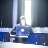 Hos firmaet FixMinOpgave kan gymnasieelever købe sig til opgaver til en selvvalgt karakter. Nu har opgavefirmaet udvidet, så også studerende på de videregående uddannelser kan bestille opgaver. Aktivfoto.