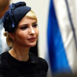 Ivanka Trump, the daughter of US President, attends a press conference at the president's residence in Jerusalem on May 22, 2017. / AFP PHOTO / THOMAS COEX