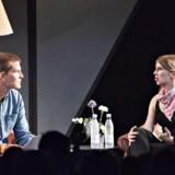 Roskilde Festival 2018 Den amerikanske whistleblower Chelsea Manning taler på Gloria Scenen om aktivisme, og om at gøre en indsats for at ændre verden torsdag 5. Juli 2018. (Foto: Torben Christensen/Ritzau Scanpix)