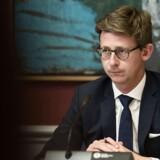Skatteminister Karsten Lauritzen (V) er tilfreds med de midler, der er afsat til nyt center mod skattely.