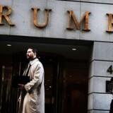 Arkivfoto: Wall Streets investorer har kunne se porteføljerne svulme, siden Donald Trumps indtog i Det Hvide Hus.