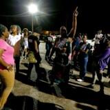 Arkvifoto: En video af drabet på Alton Sterling blev delt på internettet og udløste en bølge af protester i USA mod politidrab på sorte mennesker.