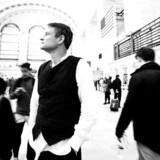 Claus Meyer fotograferet på Agern i Grand Central Terminal, inden det blev åbnet.