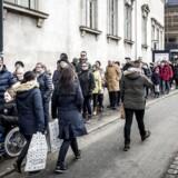 Castrum Doloris for offentligheden i Christiansborg Slotskirke mandag den 19. februar 2018. Prins Henrik sov stille ind på Fredensborg slot den 13. februar 2018.. (Foto: Mads Claus Rasmussen/Scanpix 2018)