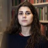 »Nu er det ikke kun et spørgsmål om uddannelsesloftet. Det er også blevet et demokratisk spørgsmål«, siger Sana Mahin Doost, der er formand for Danske Studerendes Fællesråd.