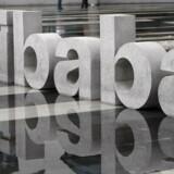 Arkivfoto: Den kinesiske internethandelsvirksomhed Alibaba forventer en omsætningsvækst i intervallet 45 til 49 pct. i år, hvilket overstiger analytikernes forventninger med 10 pct.point