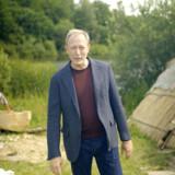 Foto fra DRs store satsning om danmarkshistorien med Lars Mikkelsen som den gennemgående fortæller.