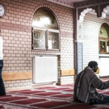 Arkivfoto. En af de lokale moskeer i Molenbeek, Bruxelles.