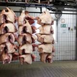 Det russiske importforbud mod svineprodukter er bl.a. gået ud over Danish Crown.