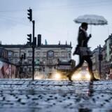 Arkivfoto: Påsken bliver en kold, våd og vindfyldt omgang.