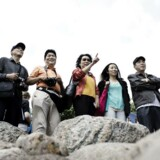 Kinesiske turister ved Den Lille Havfrue